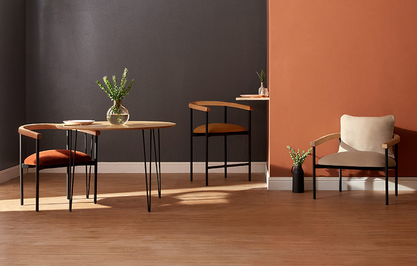 Shop the Ada Collection, featuring lounge chairs, dining chairs, & counter stools.