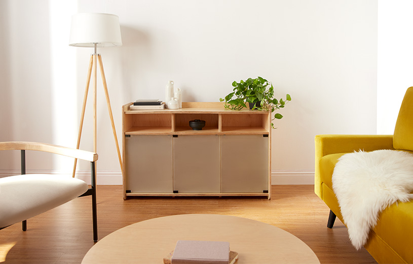 The custom storage cabinet for any space. Preorder & save 20% OFF!